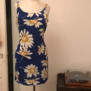 Adorable Mini Coachella Festival Vintage 90s Dress